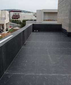 tanch it d 39 un toit terrasse l 39 exp rience de la b che. Black Bedroom Furniture Sets. Home Design Ideas