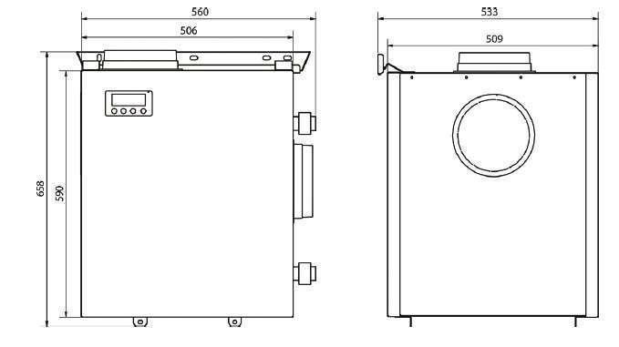 kit puits canadien hydraulique aquacom ventilair econology. Black Bedroom Furniture Sets. Home Design Ideas