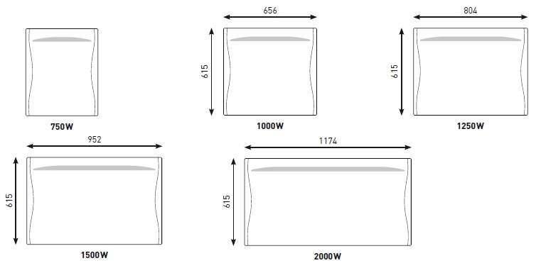 radiateur lectrique kenya 2 thermor econology. Black Bedroom Furniture Sets. Home Design Ideas