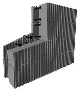 Bloc de coffrage isolant bloc bancher polystyr ne econology - Maison bloc modulaire ...