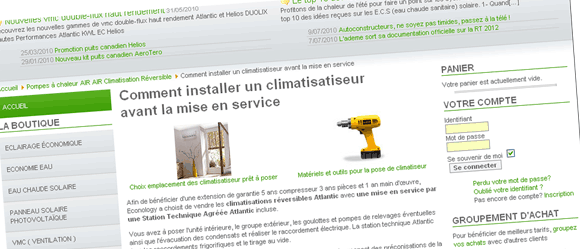 Tutorial comment installer un climatiseur econology le blog - Comment installer un climatiseur ...