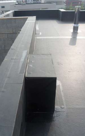 Lotissement toits plats