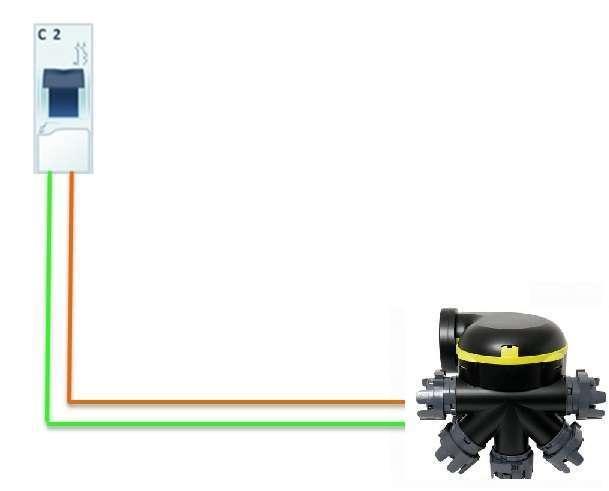 schéma disjoncteur vmc