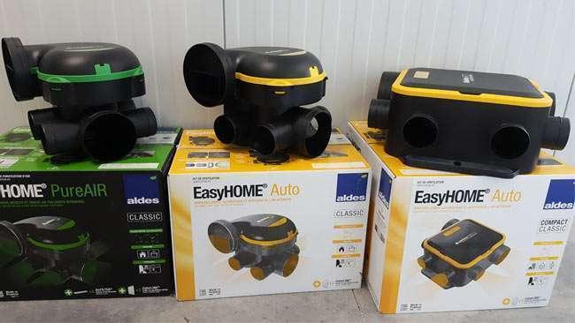 nouvelle gamme de vmc aldes easyhome. Black Bedroom Furniture Sets. Home Design Ideas