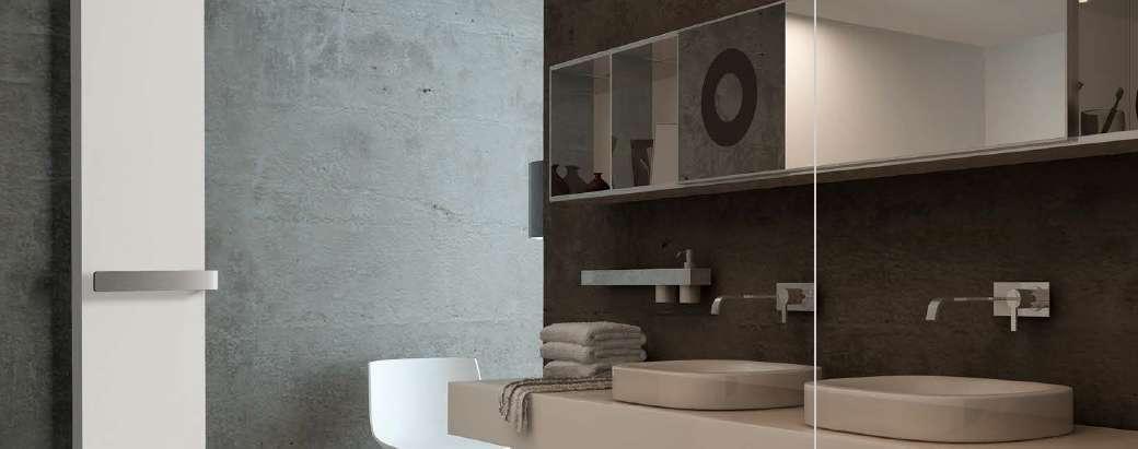 radiateur s che serviette eau chaude toscane thermor econology. Black Bedroom Furniture Sets. Home Design Ideas