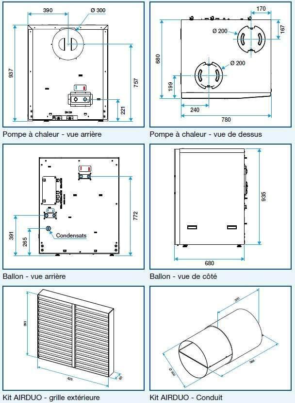 chauffe eau thermo aldes t flow activ econology. Black Bedroom Furniture Sets. Home Design Ideas