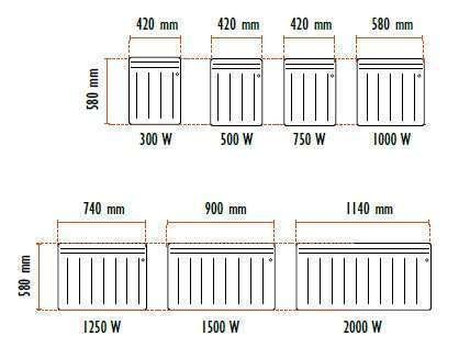 Radiateur lectrique noirot palatino ecoconso econology - Radiateur electrique hauteur 30 cm ...