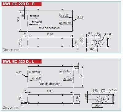 Helios kwl ec 60 eco kwl ec 60 eco 771 17 kwl ec 60 eco for Vmc double flux haut rendement
