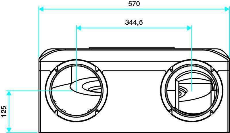 echangeur vmc double flux modulo autor glable econology. Black Bedroom Furniture Sets. Home Design Ideas