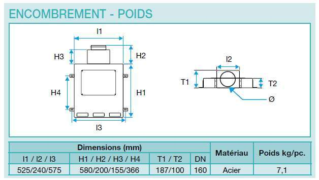 caisson m tallique ovale 11 piquages optiflex flexigaine aldes 11091883 3542280918837. Black Bedroom Furniture Sets. Home Design Ideas