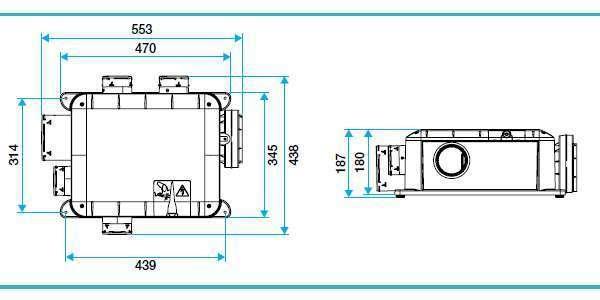 vmc simple flux hygror glable bahia compact microwatt. Black Bedroom Furniture Sets. Home Design Ideas
