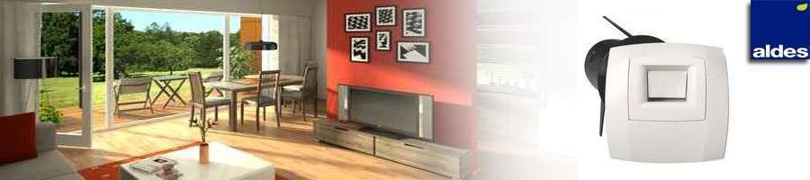 bouche vmc hygror glable aldes econology. Black Bedroom Furniture Sets. Home Design Ideas