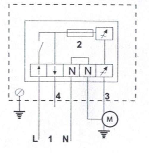 variateur de vitesse lectronique 230v 1a nather econology. Black Bedroom Furniture Sets. Home Design Ideas