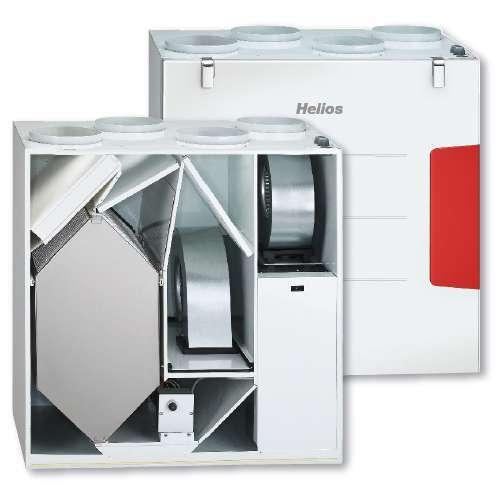 vmc double flux haut rendement kwl ec 500 w et l r helios. Black Bedroom Furniture Sets. Home Design Ideas