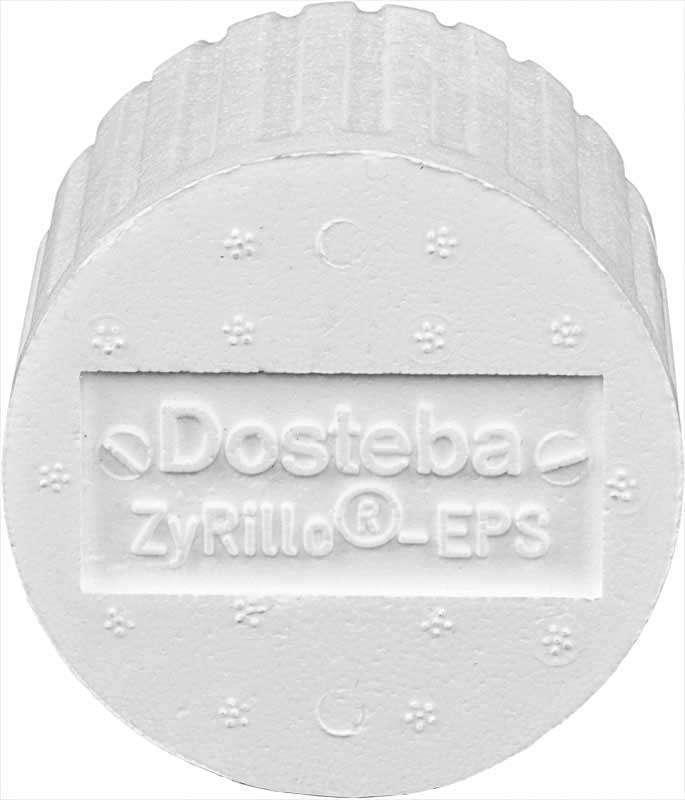 ZyRilloEPS DOSTEBA 50 cylindres fixat. sur ITE ⌀125 +fraise+ 4 ST-Polyme 6000467