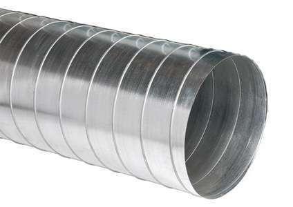 3m Conduit spiralé en acier galvanisé