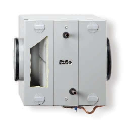 module changeur de chaleur puits canadien hydraulique helios ventilateurs. Black Bedroom Furniture Sets. Home Design Ideas