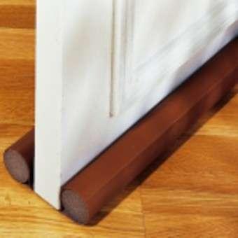 bas de porte double boudin marron eqwergy eq0572. Black Bedroom Furniture Sets. Home Design Ideas