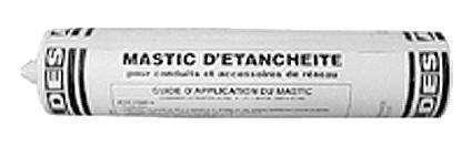 Cartouche 310 ml mastic colle silicone spécial gaz
