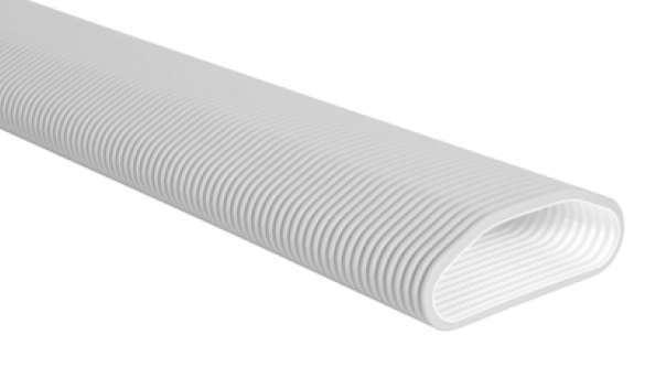 Conduit ovale antibactérien long. 20m