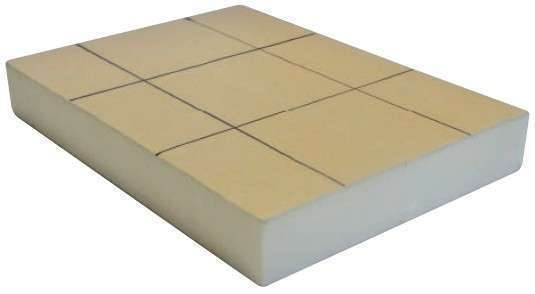 Dalle lisse plancher chauffant