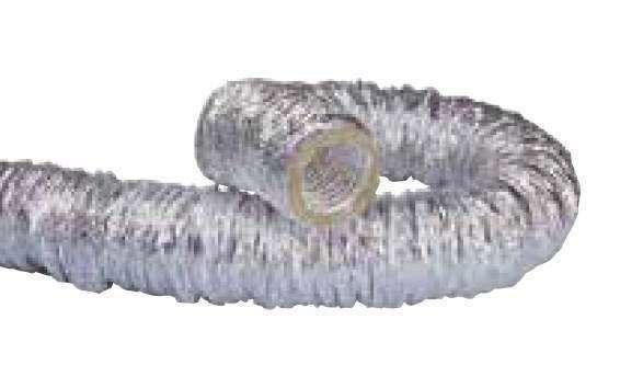 Gaine souple alu isolation phonique