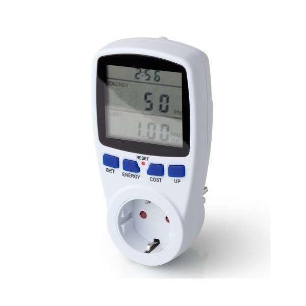 Prise mesure d'énergie Wattmètre