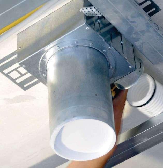 Tube 75 raccordement latéral (en ABS)