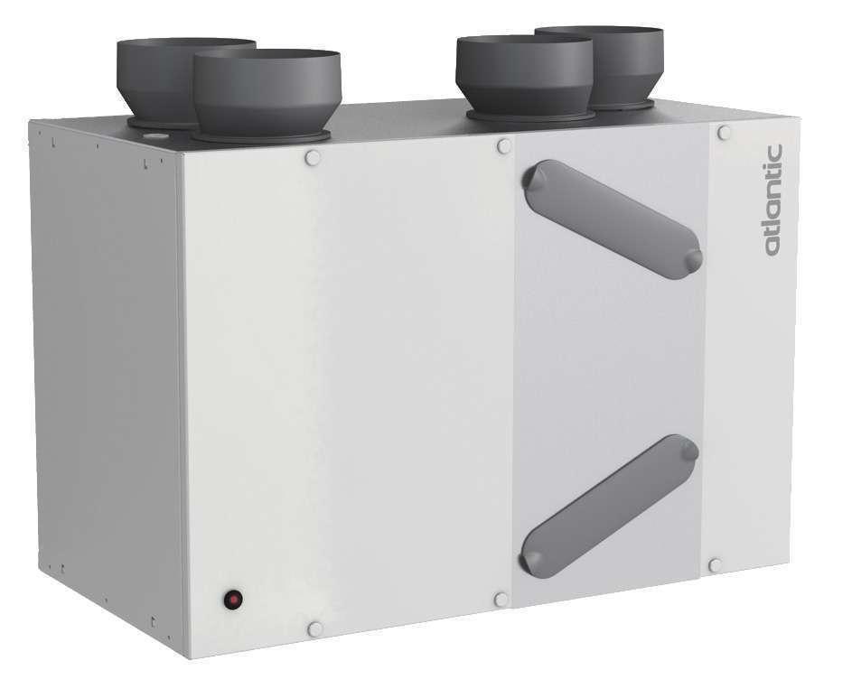 VMC double flux haut rendement autoréglable