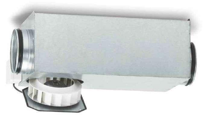 Ventilateur de gaines circulaires