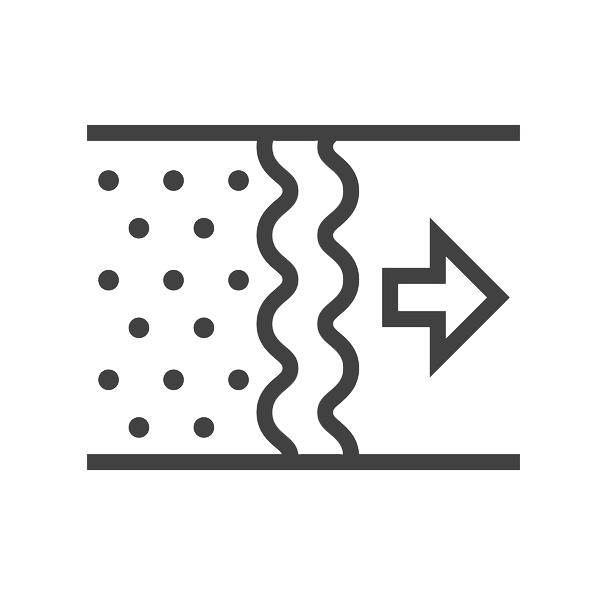 NATHER Filtre 95 % gravimétrique pour caisson filtre CF 20 551805