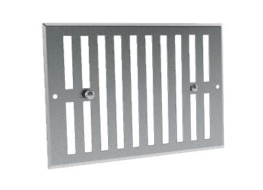 Grille de ventilation obturable aluminium GO AL