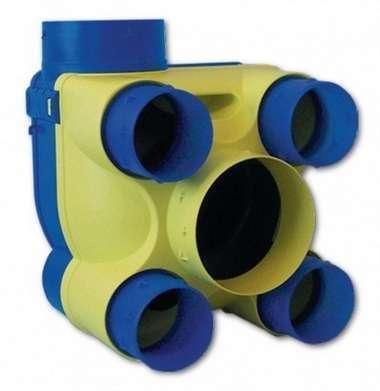 Hydra Ecowatt Unelvent VMC simple flux hygroréglable
