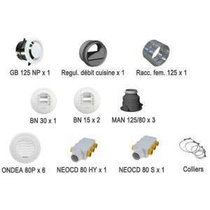 Kit bouches et accessoires Optimocosy pieuvre KIT ACC OPTIMO P 412242