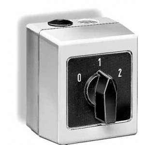 Commutateur 2 vitesses pour ventilateur monophasé