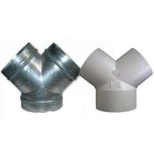 Dérivation PVC ou acier galva