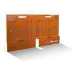 Gabarit de pose convecteurs et panneaux rayonnants