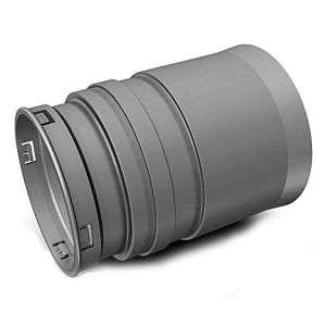 Optiflex / Flexigaine ALDES Raccord Droit D90 11091989