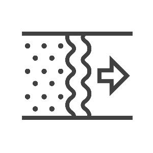 Filtre de rechange G4 pour batterie préchauffage