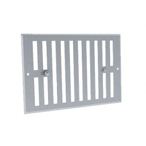 Grille de ventilation obturable aluminium ano GO AL