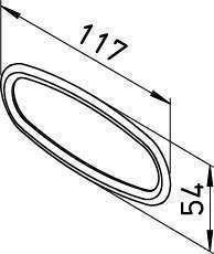 10 Joints toriques pour conduit 114x51