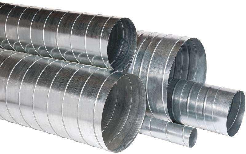 3m Conduit rigide galva diamètre 100 mm