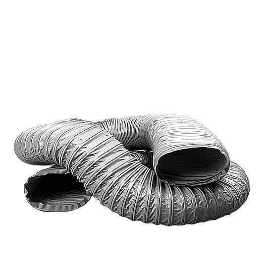 6m Gaine PVC Souple Renforcé Rectangulaire 100/40 -80