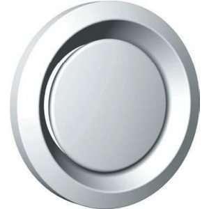 Bouche extract / insuf. métal régl. diam 100mm