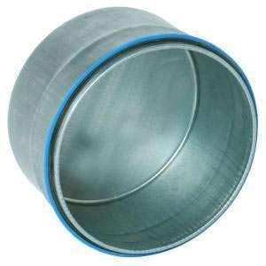 Bouchon mâle galva diamètre 125 mm