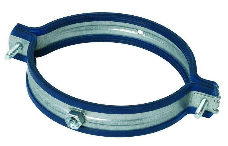 Collier support antivibratile ⌀200 écrou M8