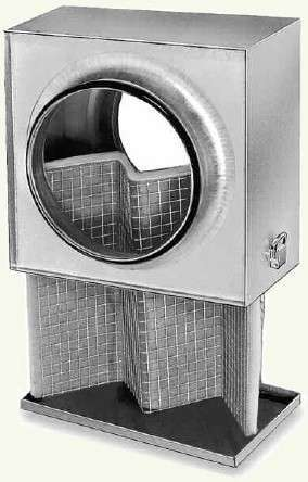 Caisson filtre G4 conduits circulaires ⌀160 G4