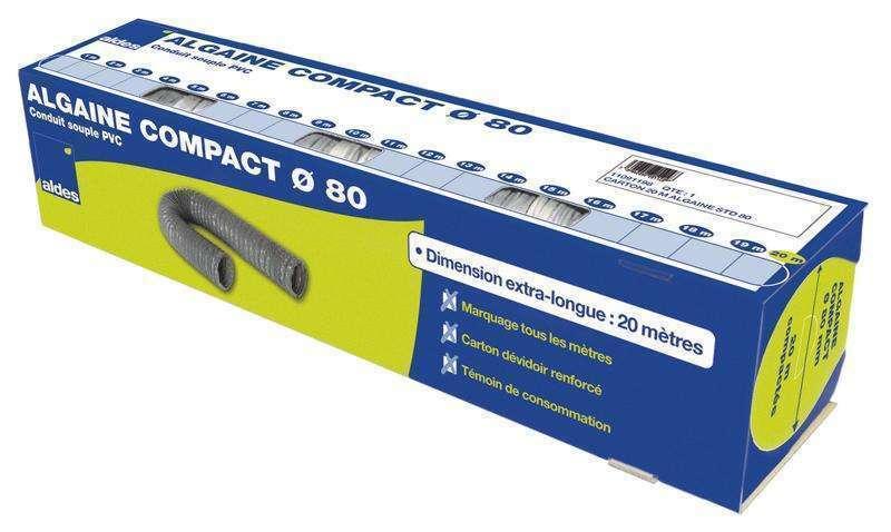 20m Conduit souple standard Compact ⌀80