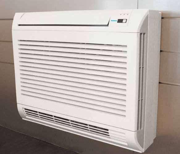 Console double flux 4 kW