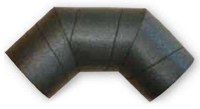 Coude 90 polyéthylène D80mm